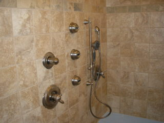 shower controls